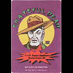 Grateful Dead 7/5/1995 Mr. Big Marvel Backstage Pass