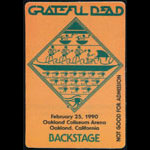 Stanley Mouse Grateful Dead Backstage Pass