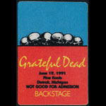 Rick Griffin Grateful Dead Backstage Pass