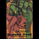 Grateful Dead 9/8/1991 New York City Backstage Pass