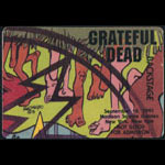 Grateful Dead 9/16/1991 New York City Backstage Pass