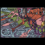 Grateful Dead 9/22/1991 Boston Backstage Pass