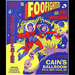David Dean Foo Fighters Poster