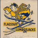 Arizona State College at Flagstaff Lumberjacks Decal