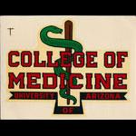 University of Arizona College of Medicine Decal