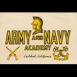 Army and Navy Academy Carlsbad CA Decal