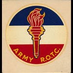 Army R.O.T.C Eternal Liberty Flame Decal