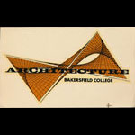 Bakersfield Junior College Architecture Decal