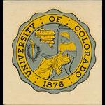 University of Colorado Seal Decal