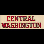 Central Washington College Decal