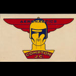 Compton Junior College Aeronautics Decal