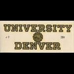 University of Denver Pioneers Decal