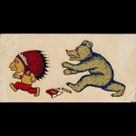 UC Cal vs Stanford 1940s Big Game Decal