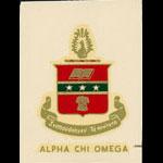 Alpha Chi Omega Decal