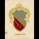 Alpha Phi Decal
