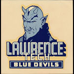 Lawrence Tech (Lawrence Institute of Technology) Blue Devils Decal