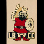 Long Beach City College Vikings Decal