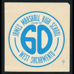 James Marshall High School Class of 1960 Decal