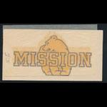 Mission High School Bears San Francisco Decal