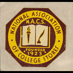 National Association of College Stores Decal