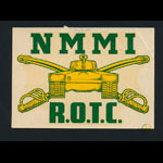 NMMI ROTC (New Mexico Military Institute Reserve Officers' Training Corps) Decal