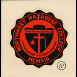 Northwest Nazarene College Seal Decal