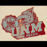 University of New Mexico Lobos Decal