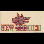 University of New Mexico Lobos Decal
