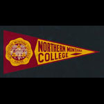 Northern Montana College Flag Decal