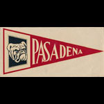 Pasadena Junior College Bulldogs Flag Decal