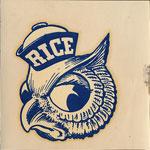 (William Marsh) Rice University Owls Decal