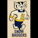 Snow College Snow Badgers Decal