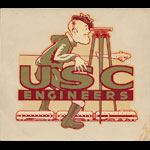 University of Southern California USC Engineers (Trojans) Decal