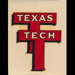 Texas Technological College Texas Tech Decal