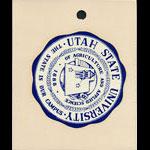 Utah State University Seal Decal