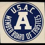 Utah State Agricultural College Member Board of Trustees Decal
