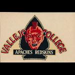 Vallejo Junior College Apaches Redskins Decal
