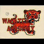 Wasatch Academy College Preparatory High School Decal