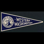 Western Washington College of Education Flag Decal