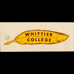 Whittier College Decal
