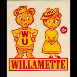 Willamette University Bearcats Decal