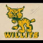 Willits High School Wolverines Decal