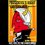 Tom Deja Lanternjack CD Release Party Poster