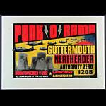 Delano Rock Guttermouth Poster