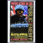 Delano Rock Public Enemy Poster