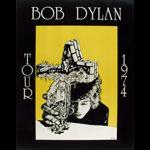Bob Dylan 1974 Tour Poster