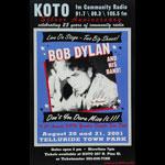 Bob Dylan Telluride Poster