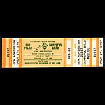 Bob Dylan and Grateful Dead Ticket