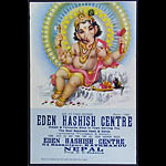Eden Hashish Centre Poster - Baby Ganesha Poster