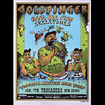 Emek Goldfinger Magical Mystery Meat Tour Poster